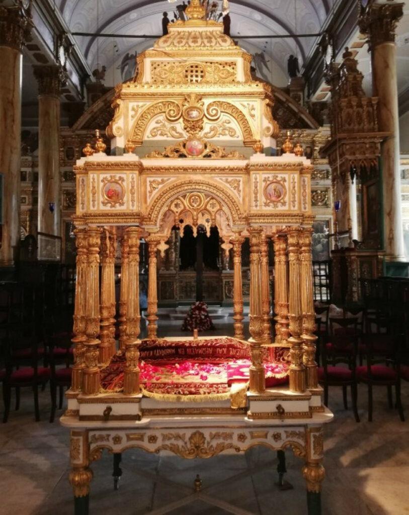 Ανάσταση στο Οικουμενικό Πατριαρχείο στην Κωνσταντινούπολη. Άγιος Φωκάς