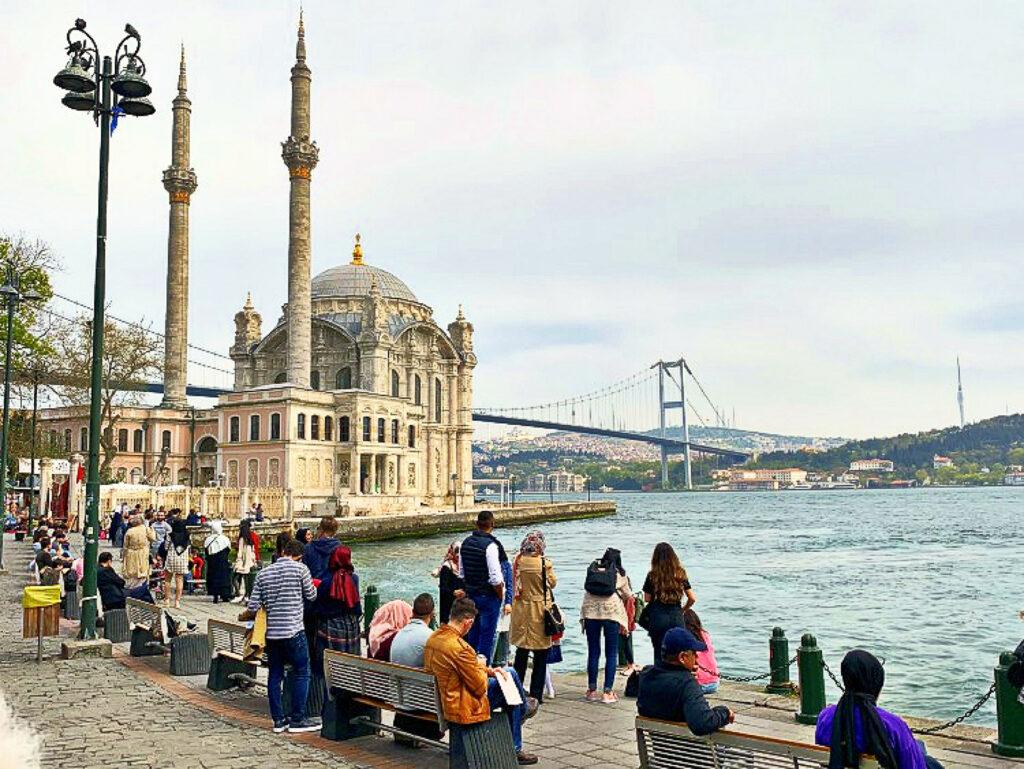 Ανάσταση στο Οικουμενικό Πατριαρχείο στην Κωνσταντινούπολη. Ορτάκιοι