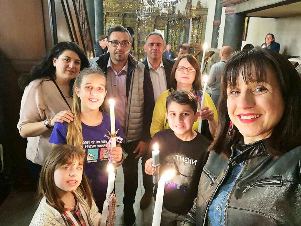 Ανάσταση στο Οικουμενικό Πατριαρχείο στην Κωνσταντινούπολη
