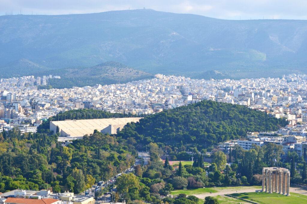 Μια ολοήμερη περιήγηση στην Αθήνα.