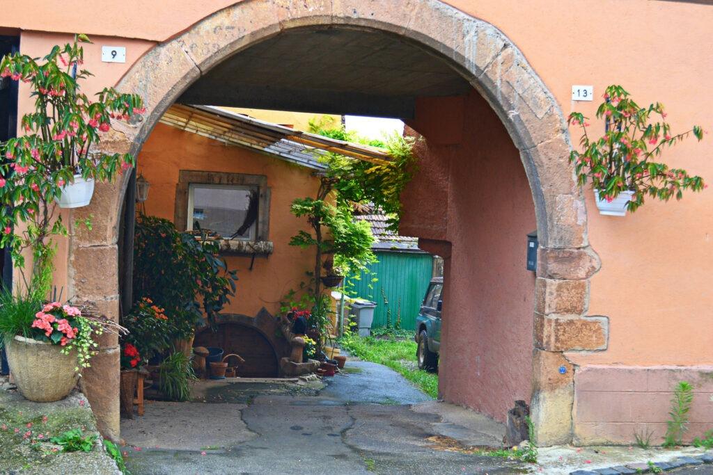 Αλσατία, ο δρόμος του κρασιού (Route de vine d' Alsace). Mittelbergheim