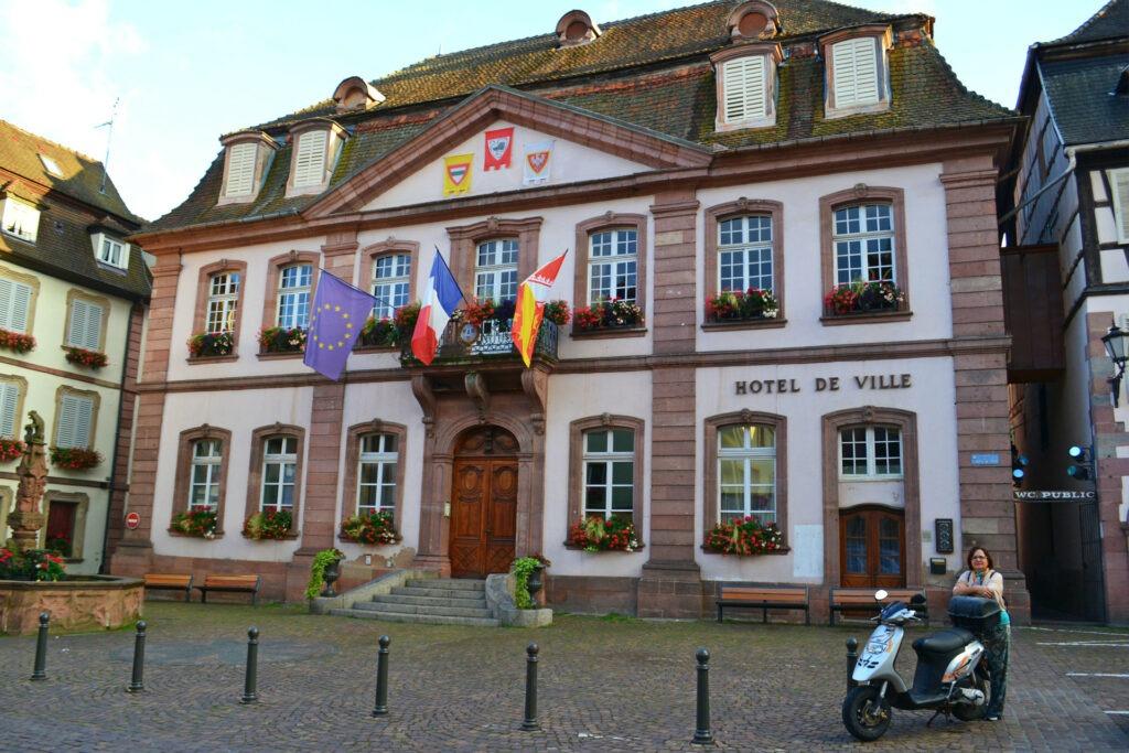 Αλσατία, ο δρόμος του κρασιού (Route de vine d' Alsace). Ribeauvillé