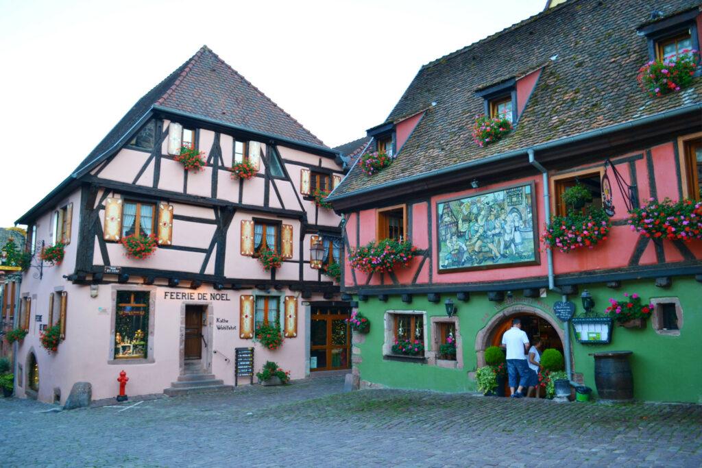 Αλσατία, ο δρόμος του κρασιού (Route de vine d' Alsace). Riquewihr