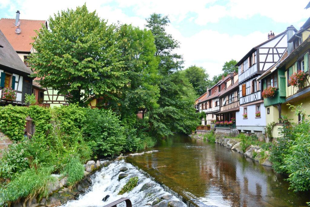 Αλσατία, ο δρόμος του κρασιού (Route de vine d' Alsace). Kaysersberg