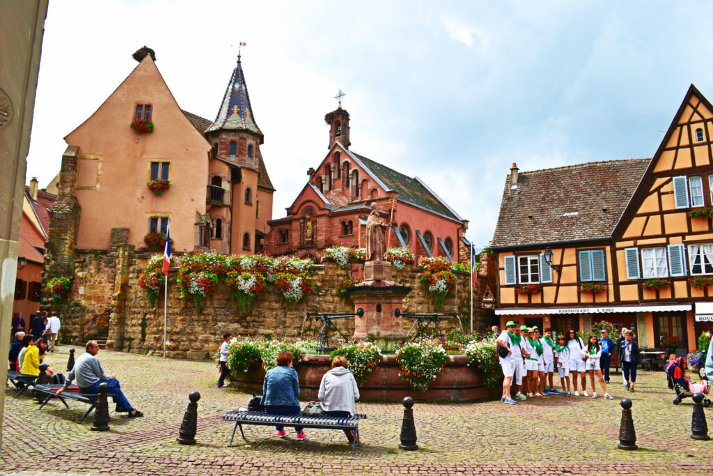 Αλσατία, ο δρόμος του κρασιού (Route de vine d' Alsace). Eguisheim