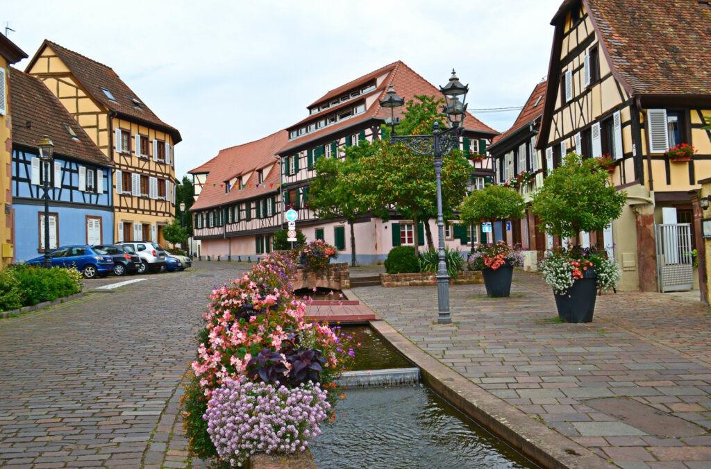 Αλσατία, ο δρόμος του κρασιού (Route de vine d' Alsace). Barr