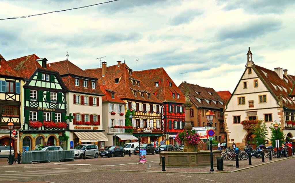 Αλσατία, ο δρόμος του κρασιού (Route de vine d' Alsace). Obernai