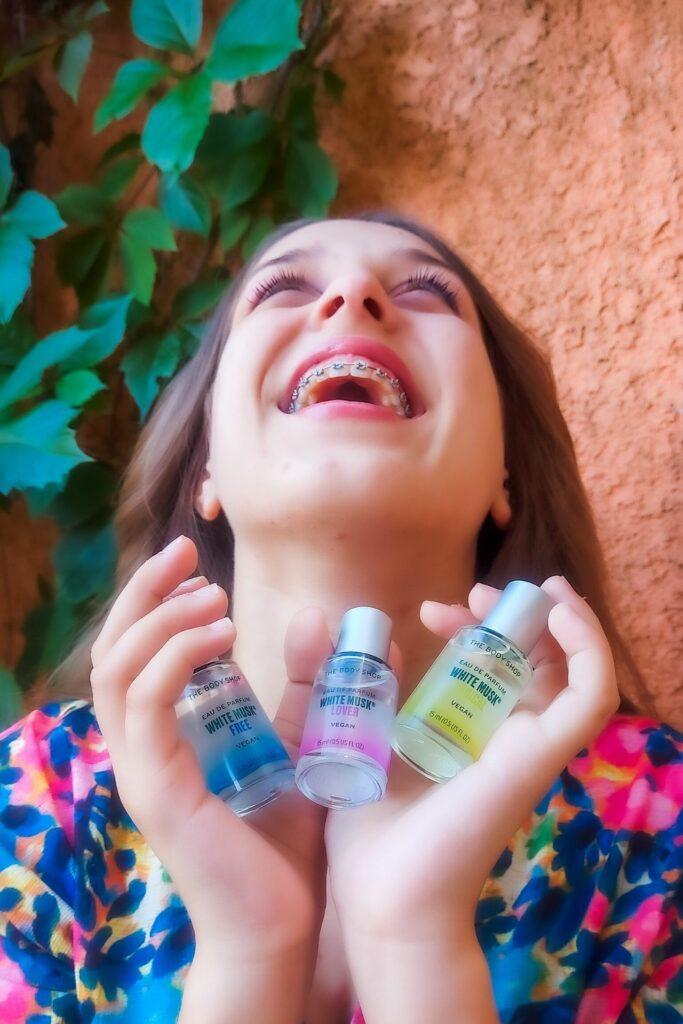 White Musk fragrance toppers για την εφηβεία αλλά και για κάθε περίσταση