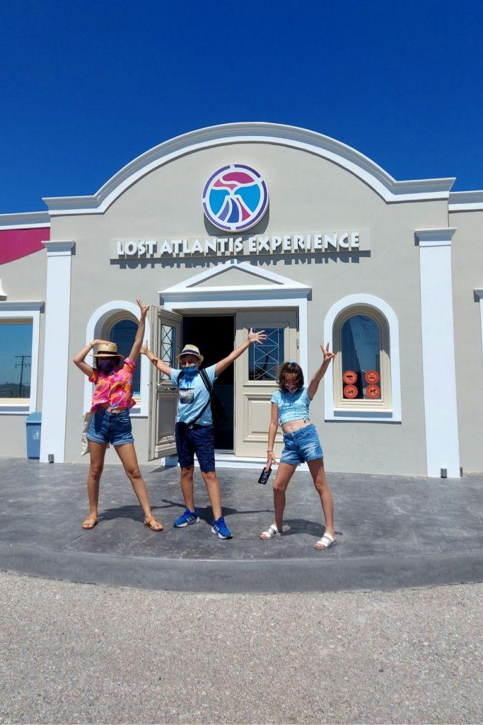 Οικογενειακή κρουαζιέρα με τη Celestyal Cruises εξερευνώντας τη Σαντορίνη, Lost Atlantis Experience