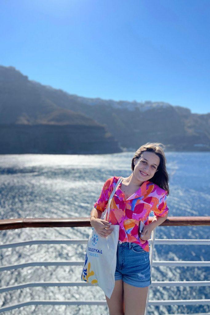 Πώς περάσαμε στη Σαντορίνη Κρουαζιέρα με τη Celestyal Cruises