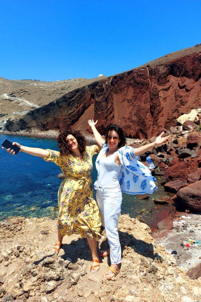 Πώς περάσαμε στη Σαντορίνη με τα παιδιά μας-Κρουαζιέρα με τη Celestyal Cruises-κόκκινη παραλία
