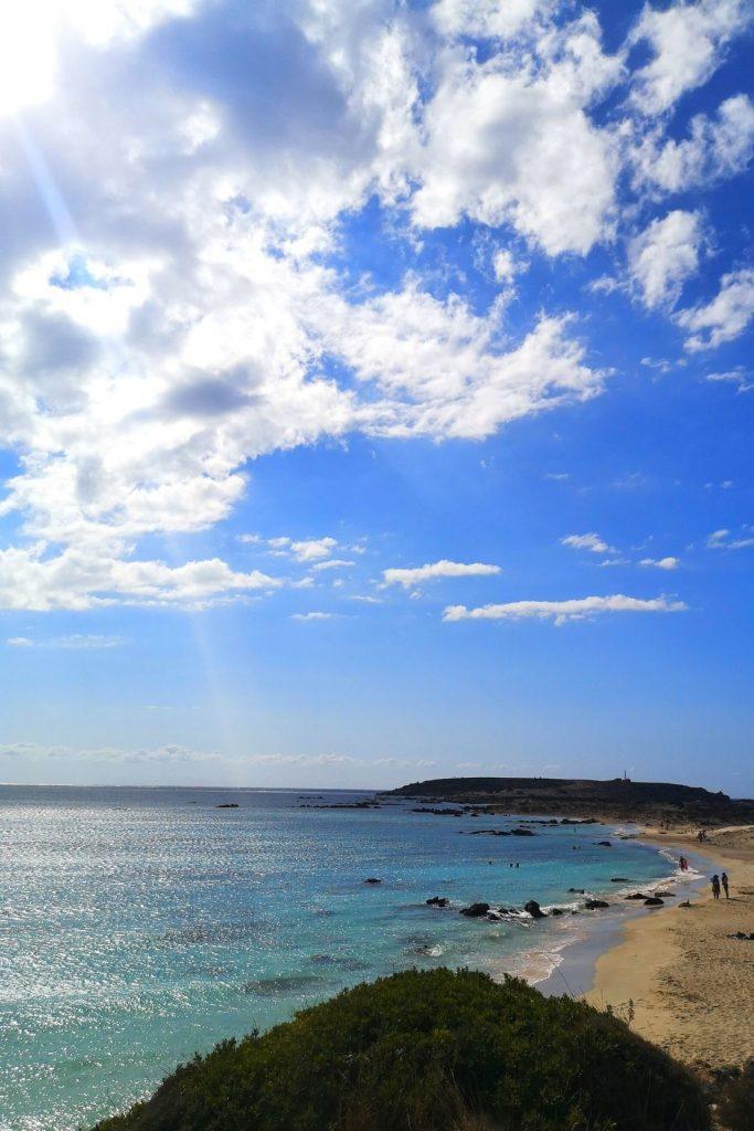 Ελαφονήσι στην Κρήτη