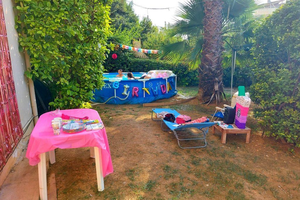 Pool party για τα 10α γενέθλια της Μελίτας