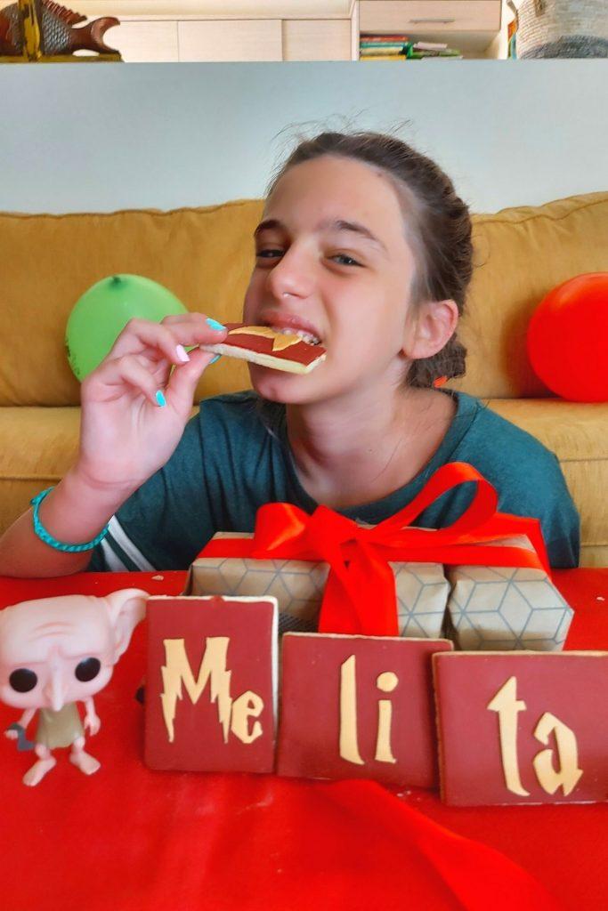Γενέθλιο πρωινό / brunch Harry Potter με μπισκότα από Nikoletta's sweets