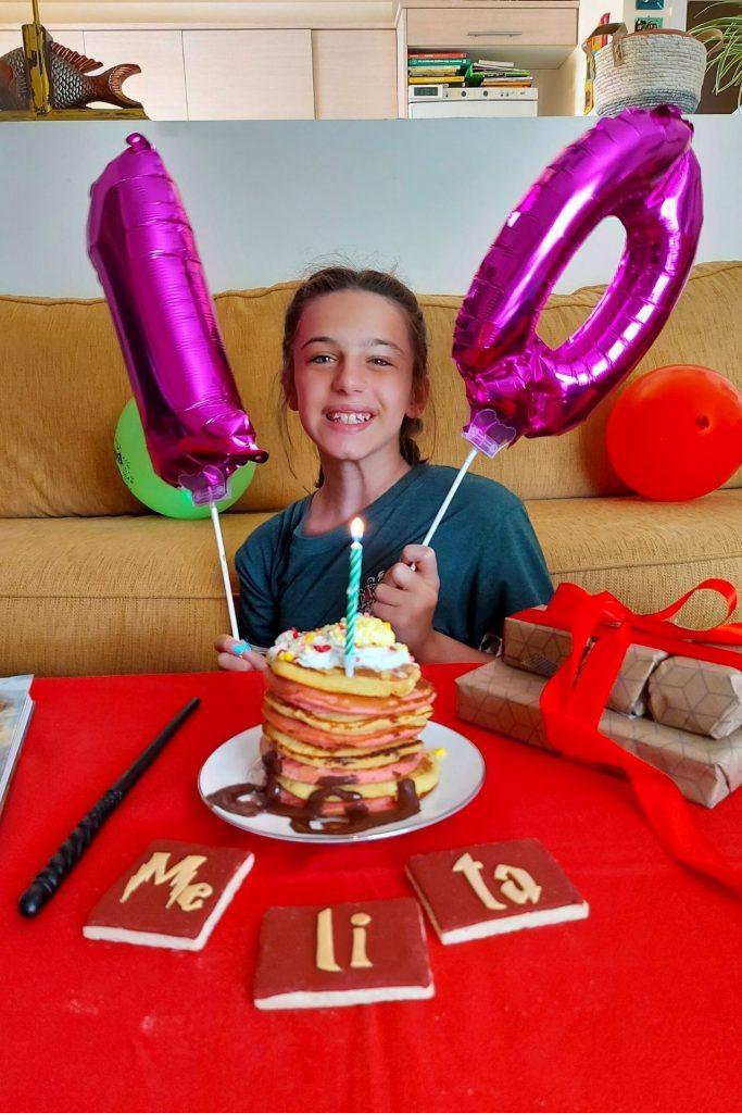 Γενέθλιο πρωινό / brunch Harry Potter για τα 10α γενέθλια της Μελίτας