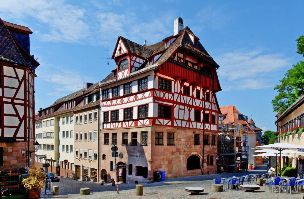 Νυρεμβέργη: Ξενάγηση στα αξιοθέατα της γερμανικής πόλης. Albrecht-Dürer-Haus