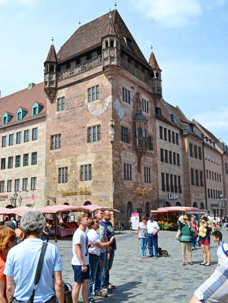 Νυρεμβέργη: Ξενάγηση στα αξιοθέατα της γερμανικής πόλης. Nessauer haus